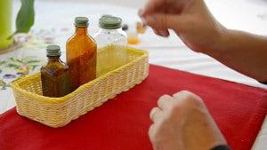 Simple Montessori Activities: opening closing bottles