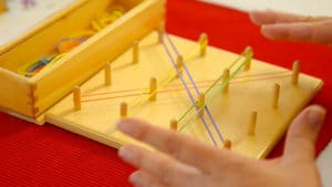 Creative Hands with Rubber Bands - Straightforward Toy for Children
