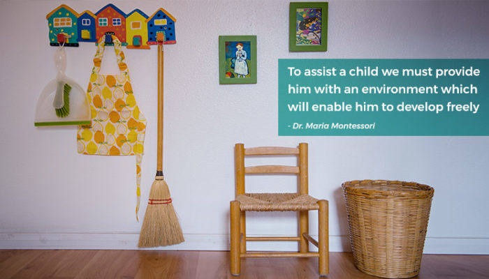 voila montessori children and chores