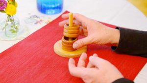 Using Napkin Rings as an Educational Toy for Your Child