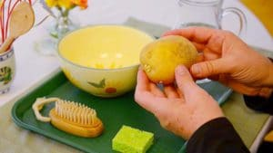 Ask Your Child to Scrub a Potato and Improve Their Confidence