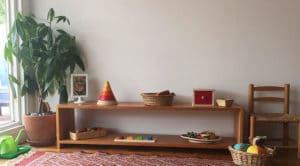 The Low Shelf a Montessori Essential for Order