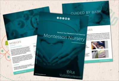 voila montessori ebooks nursery checklist