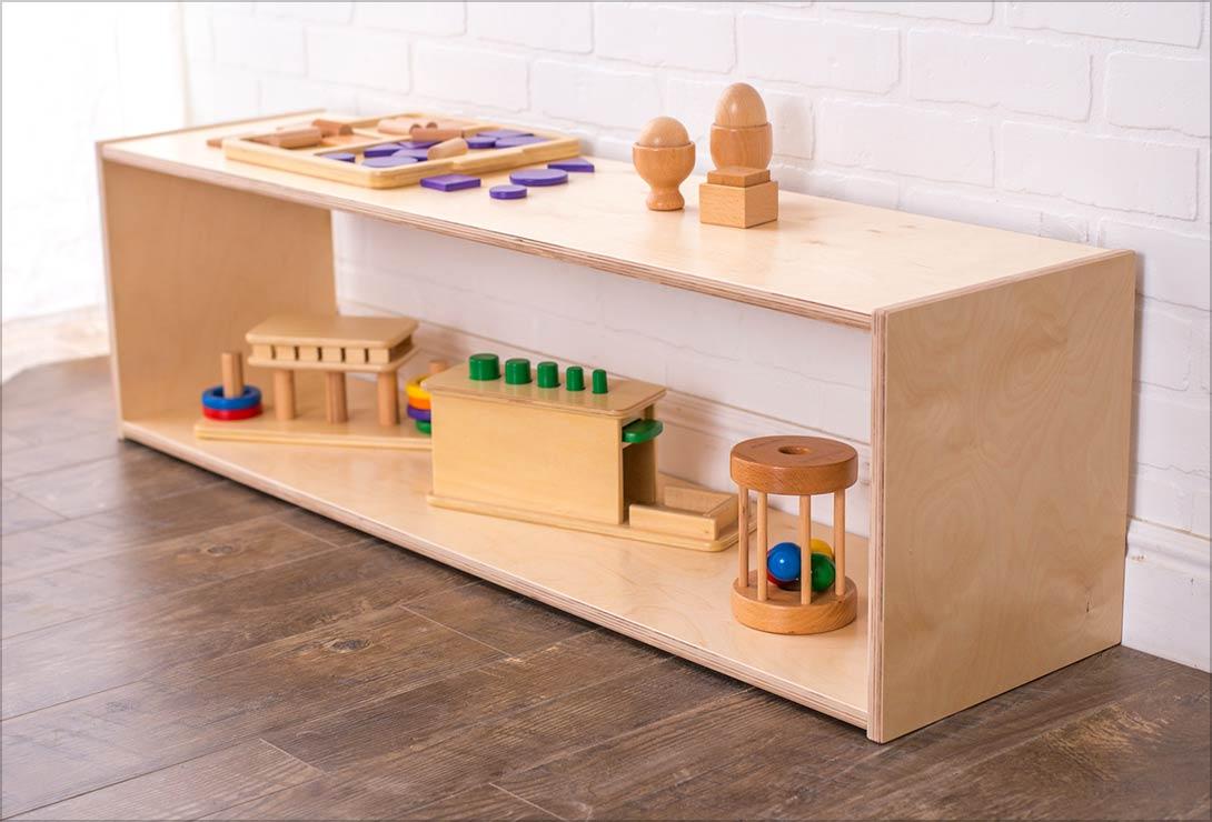 Infant Low Shelf