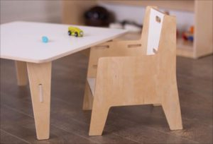 Weaning Chair and Table Set